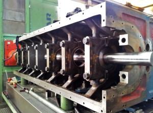 alesatrice orizzontale per controllo motore weichai per gruppo elettrogeno